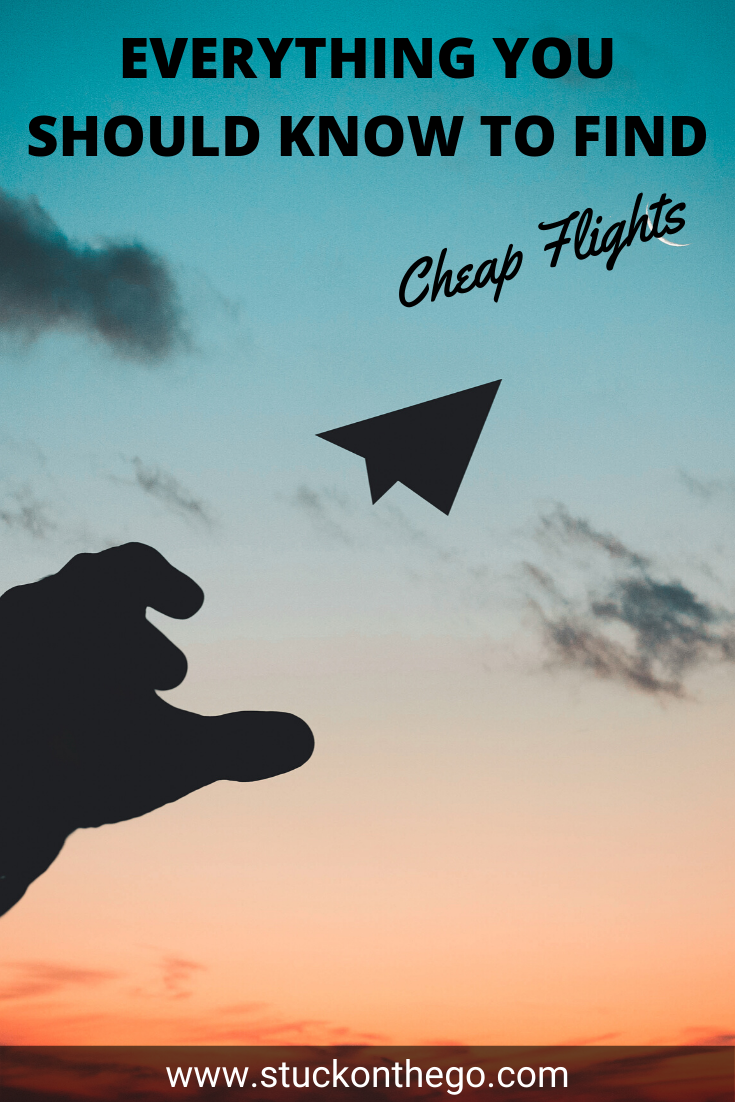 Finding cheap flights doesn't have to be hard. If you use these tips I'll show you how to find cheap flights every time! #flightdeals #howtofindcheapflights #airplanetickets