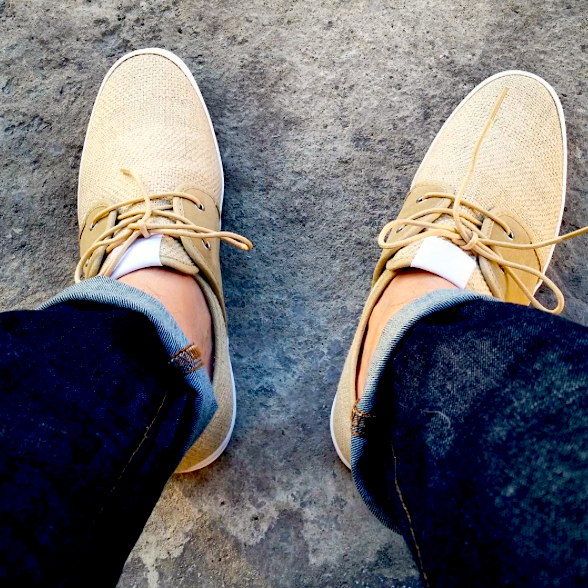 Fish n Chips Shoes. Spam 2 Weft Natural. Mens Shoes. Mens Fashion. Mens Style. Blogger. @cdnjcrewguy