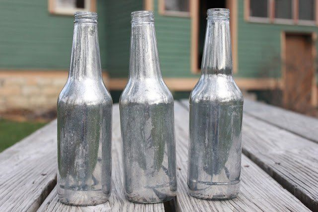 How To Make Decorative Vinegar Bottles She Lays 9 Old Bottles On Her Picnic Tablea Few Steps Later I