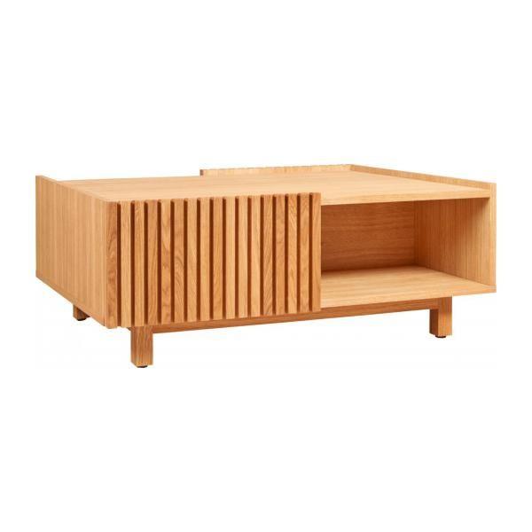 Kargo Table Basse A Rangements En Chene Habitat Table Basse Habitat Iziva Com Table Basse Table Basse Chene Rangement