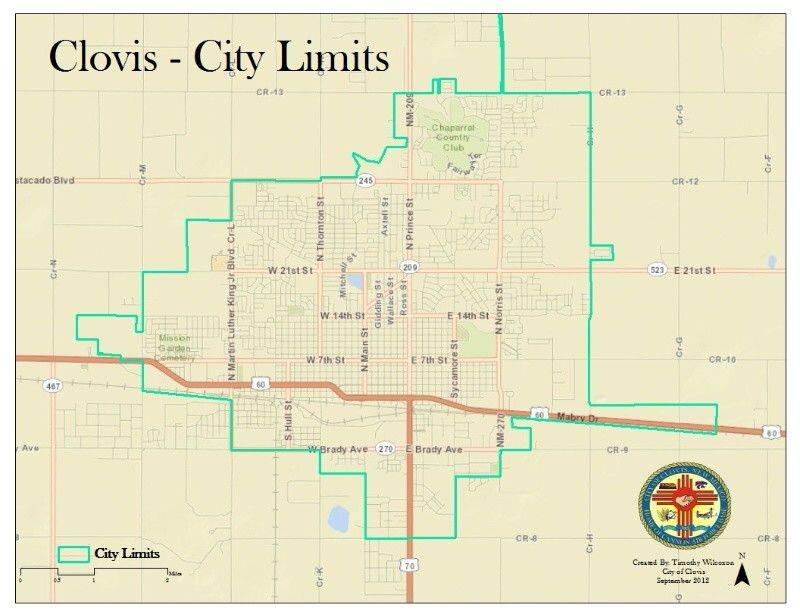 Clovis Nm City Limits Ore City Clovis