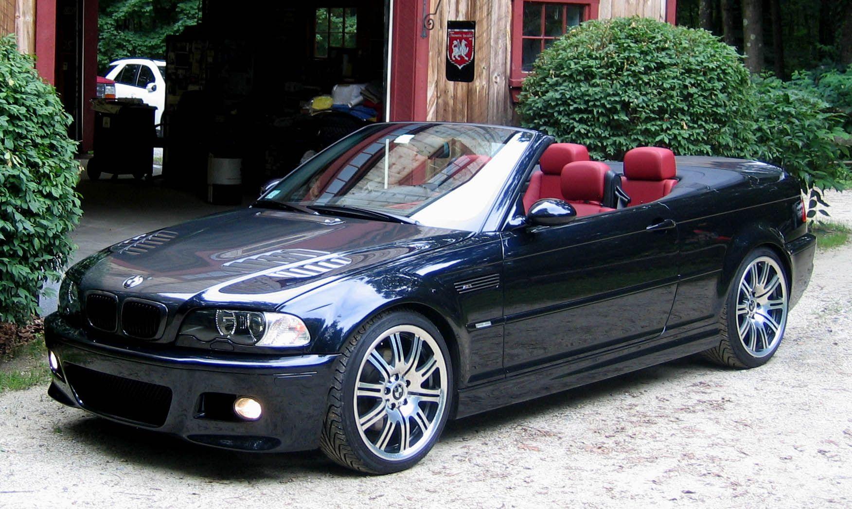 bmw m3 e46 convertible WapperCar bmwm3 m3e46 blackbmw