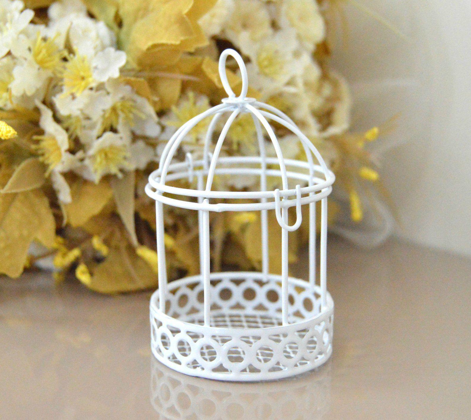 Candle holder birdcage wedding favor box wedding favor