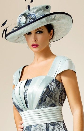 1ccada4d7b1 Beautiful hat for southern wedding. You could turn up to any of the best  hotels in this fabulous design by Zeila.