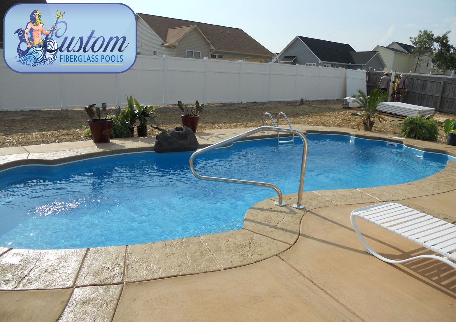 San Lucas 14x32 Awesome Pools is located in Apison Tennessee