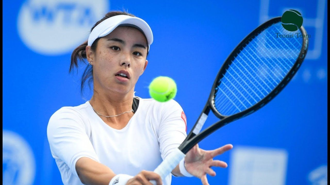 Qiang Wang Chinese Star Best Shots Of Player Youtube Tennis Team Tennis Players