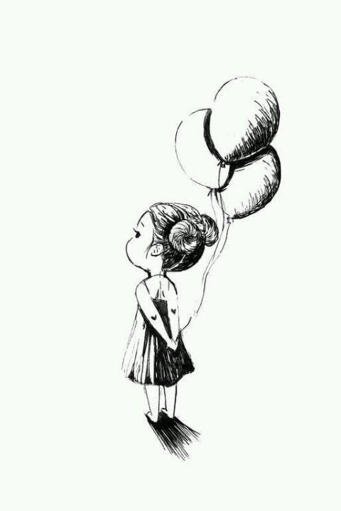 Balloons Drawing By Indrė Bankauskaitė Art Pinterest Drawings