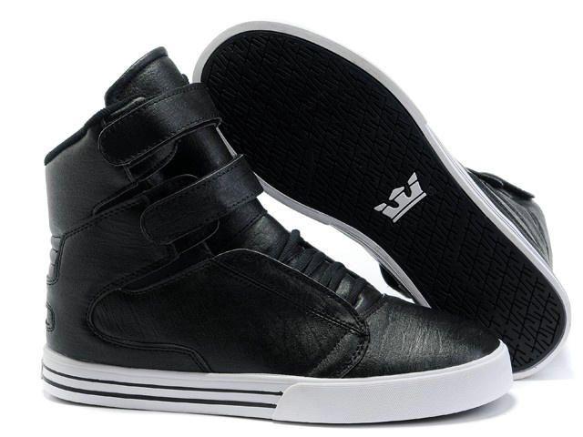 e5794d5acbe5 Mens Supra TK Society All Black Shoes