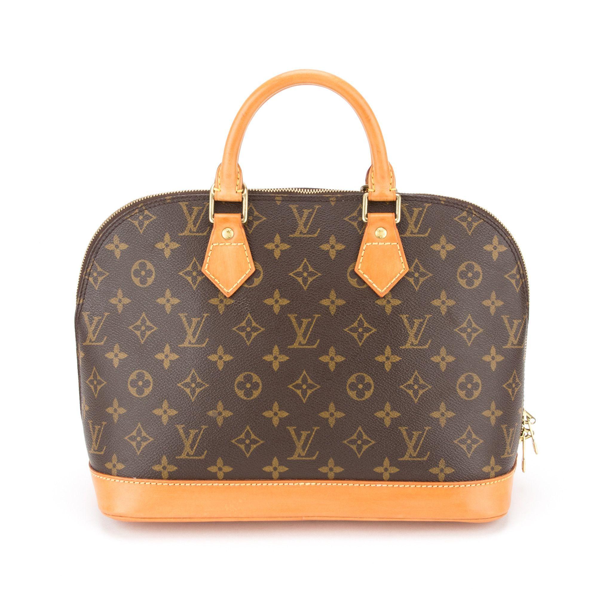 Louis Vuitton Monogram Alma Authentic Pre Owned