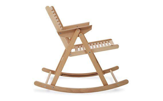Dwr Rex Folding Rocker Rocking Chair Design Within