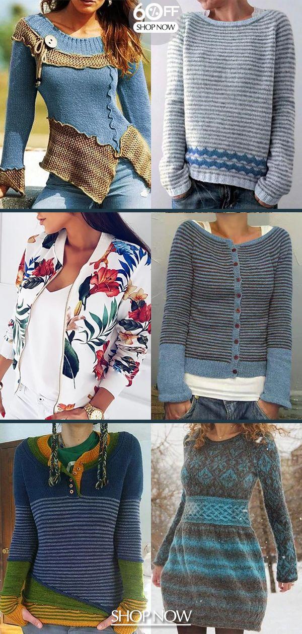 Photo of Uformelle kvinner gensere varme nå! Nyttårsgave til deg selv >> Handle nå >>