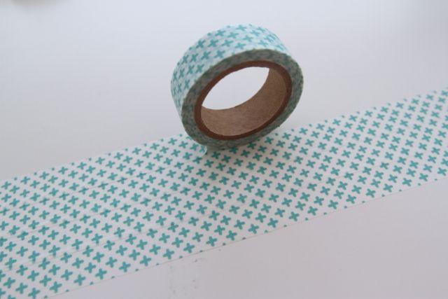Washi Masking Tape mint ADDITION  KREUZ von washitapes auf DaWanda.com