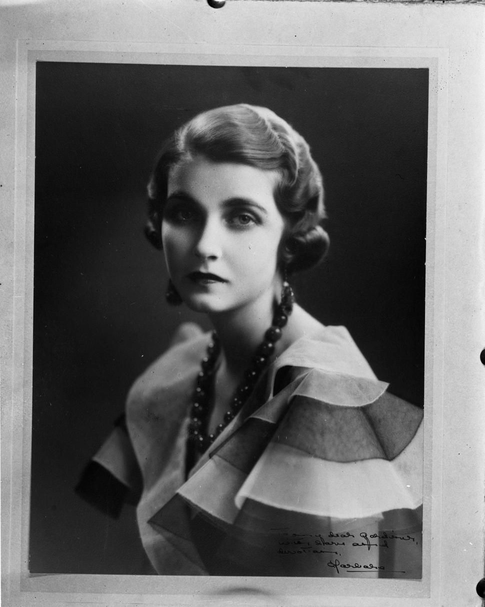 Barbara Hutton, an American socialite and heiress, pictured here in 1938.