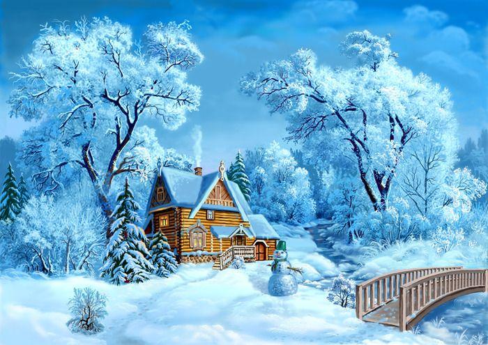 Zimnej Prirody Poisk V Google Bob Ross Paintings Cross Paintings Painting Snow