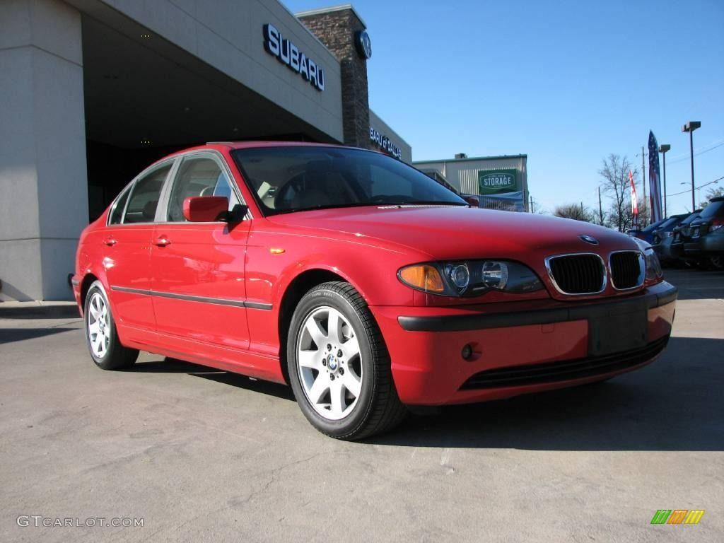 2003 bmw colors 2003 bmw 3 series 325i sedan electric red color sand