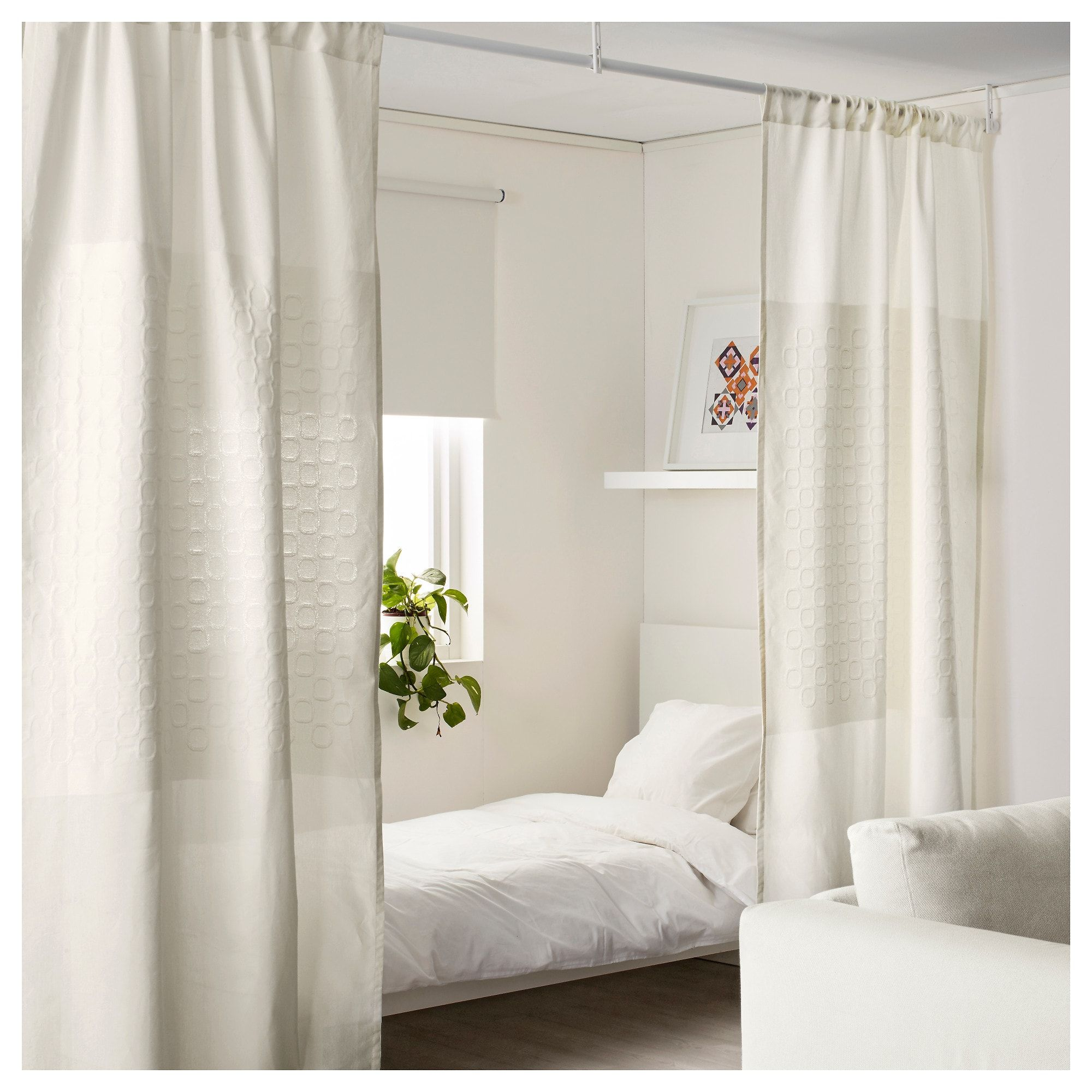Us furniture and home furnishings 2019 apartment ideas - Room divider curtain ideas ...