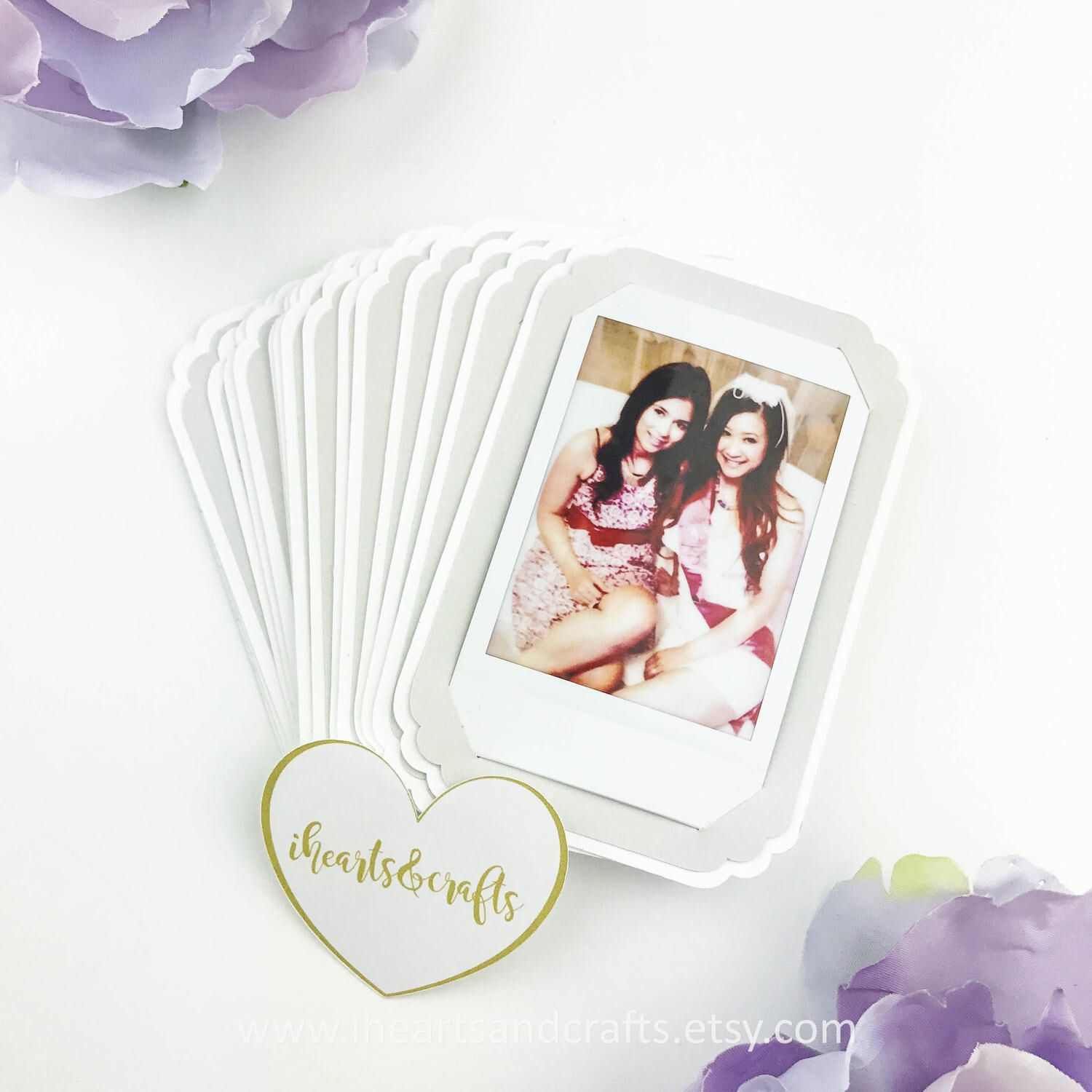 Instant Photo Mini Frame Holder Party Favors By Iheartsandcrafts On