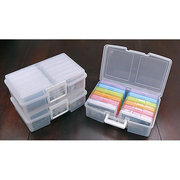 Rainbow 12 Case 4 X 6 Photo Storage Carrier The Container Store Craft Storage Box Photo Storage Best Photo Storage