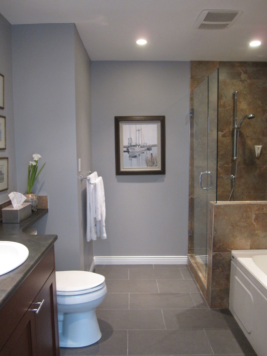 Green Yellows Are Mostly Bad: Before U0026 After. Lavender BathroomBathroom ...