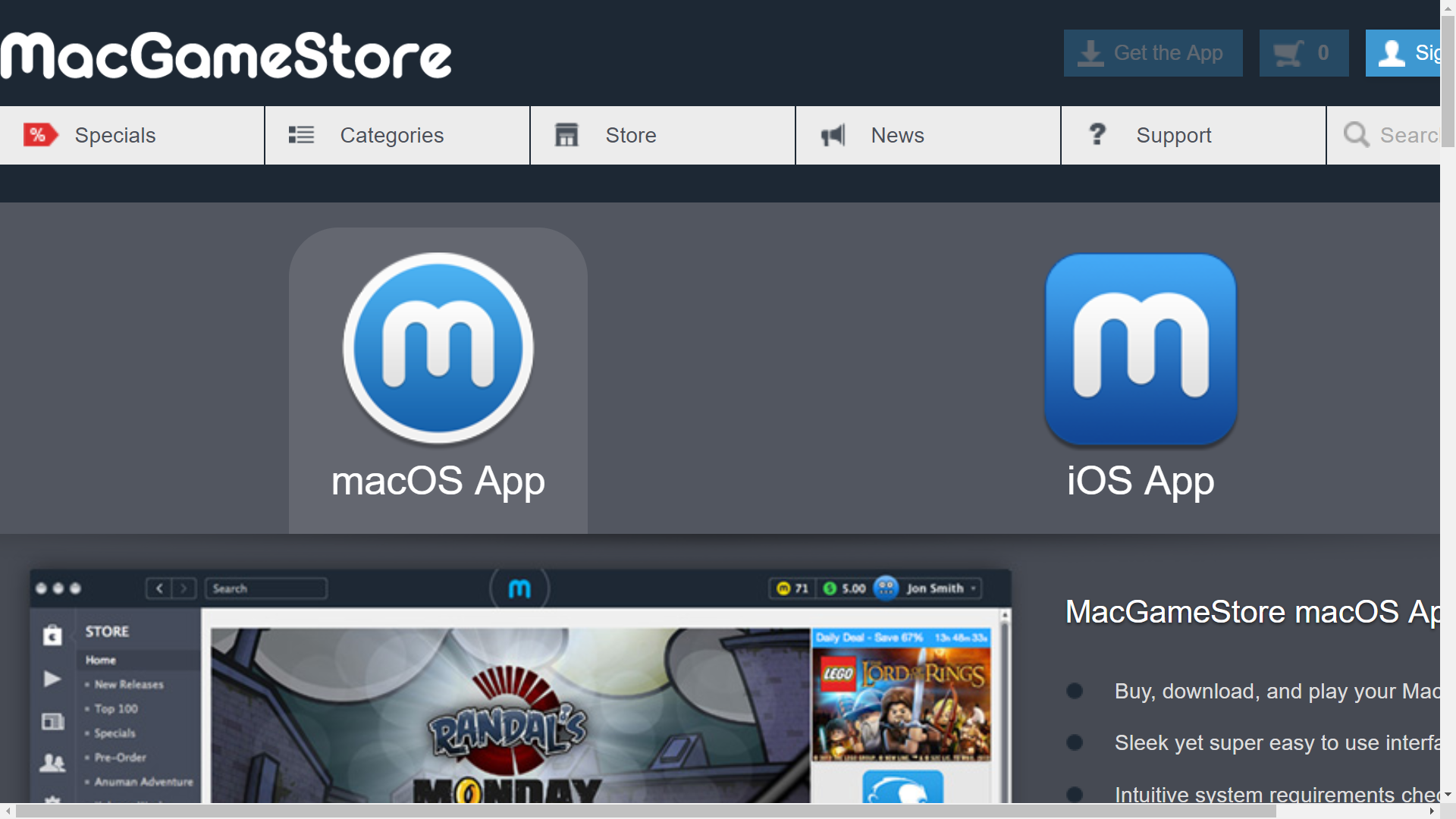 My 1 Very Important Belief Is In MacGameStore App. That's