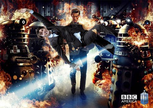 """""""Who killed all the Daleks?""""""""Who do you think?""""  [submitted by thisdayandage]"""