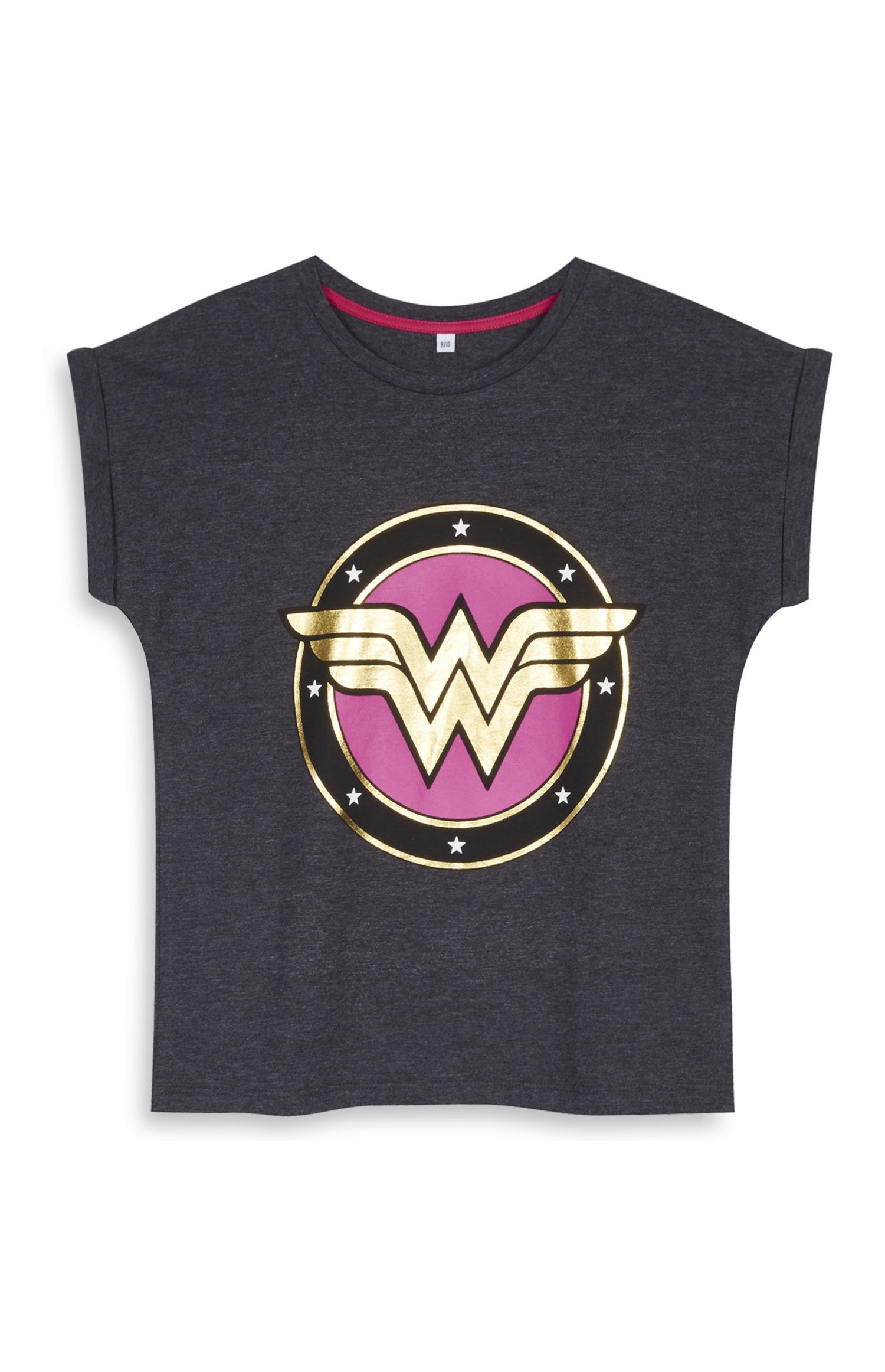 Primark - Grey Wonder Woman T-Shirt  c41a78796ccb1