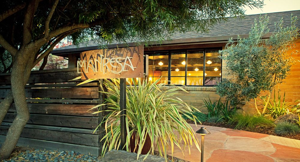 Manresa Restaurant In Los Gatos California Just Look At The