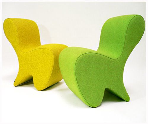 Yellow Diva Chairs