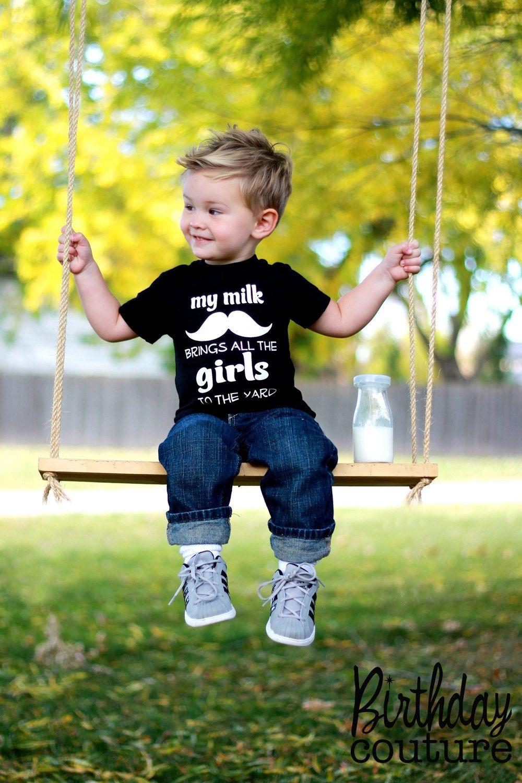 7efb2bf98 Got Milk? | style children graphics | Toddler boy haircuts, Little ...