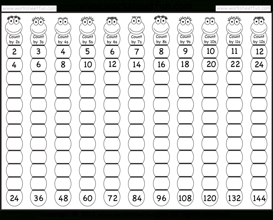 17 Math Counting By 8 Worksheet In