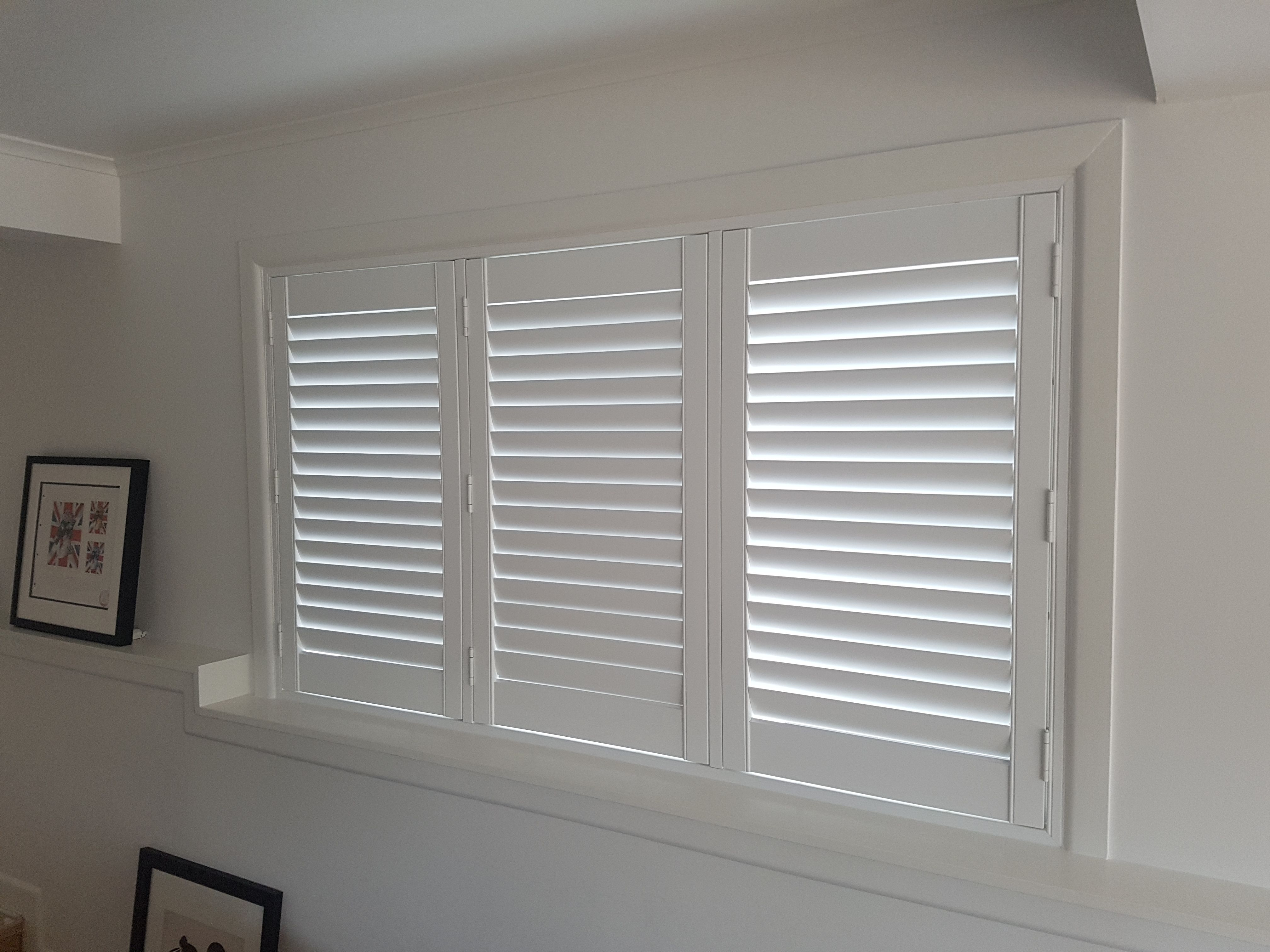 Marika S New Shutters Installed Downstairs To Match The Previously Installed Ones Upstairs Blindsonline Net Nz Shutters Blinds Blinds Online