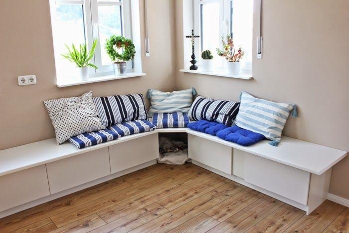 Wir Bauen Ein Haus Ikea Hack Tutorial Essecke Eckbank Selber Bauen Sitzecke Wohnen