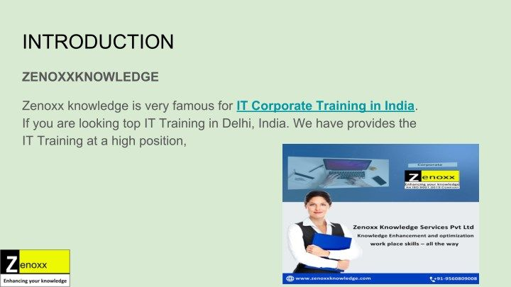 corporate training companies in india it corporate training in