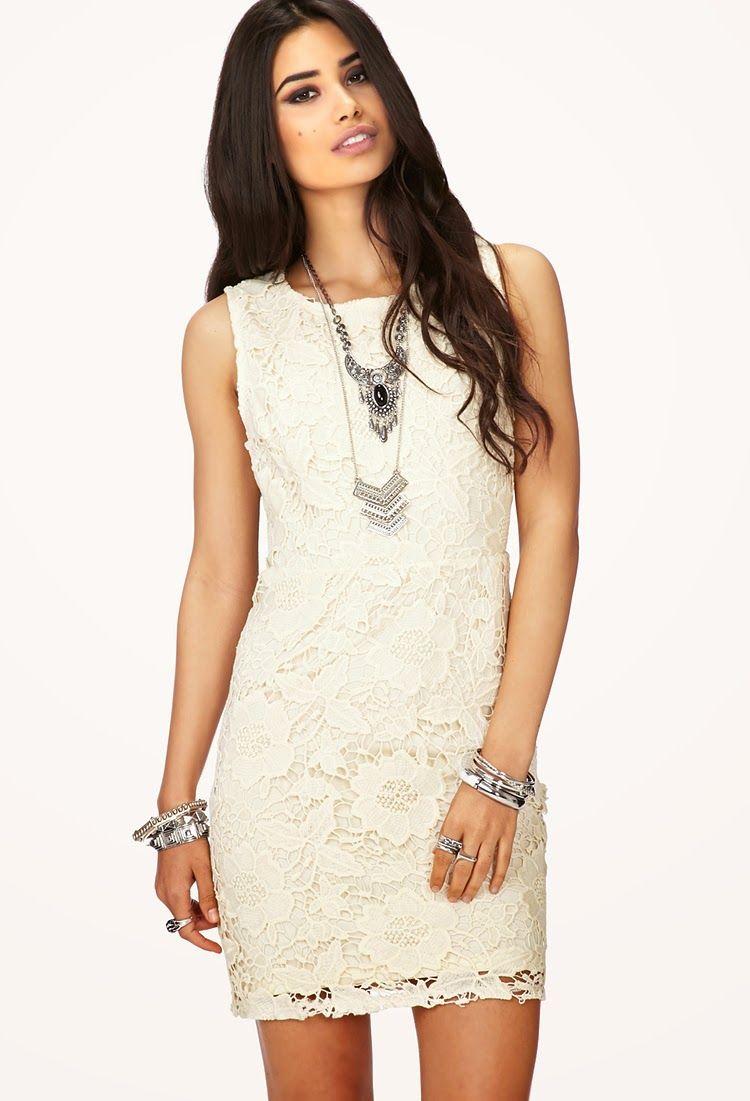 a0d22a081e Modernos vestidos de moda con encaje