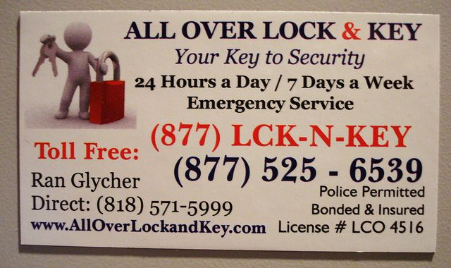 Business Card Business card design, Locksmith services