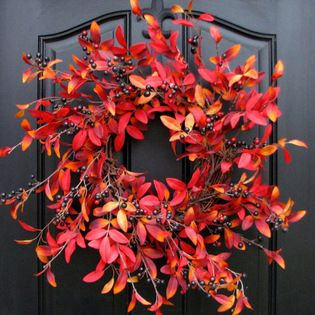 THANKSGIVING WREATHS 2014 - TWOINSPIREYOU This site has an AMAZING selection of TONS OF STUFF!!