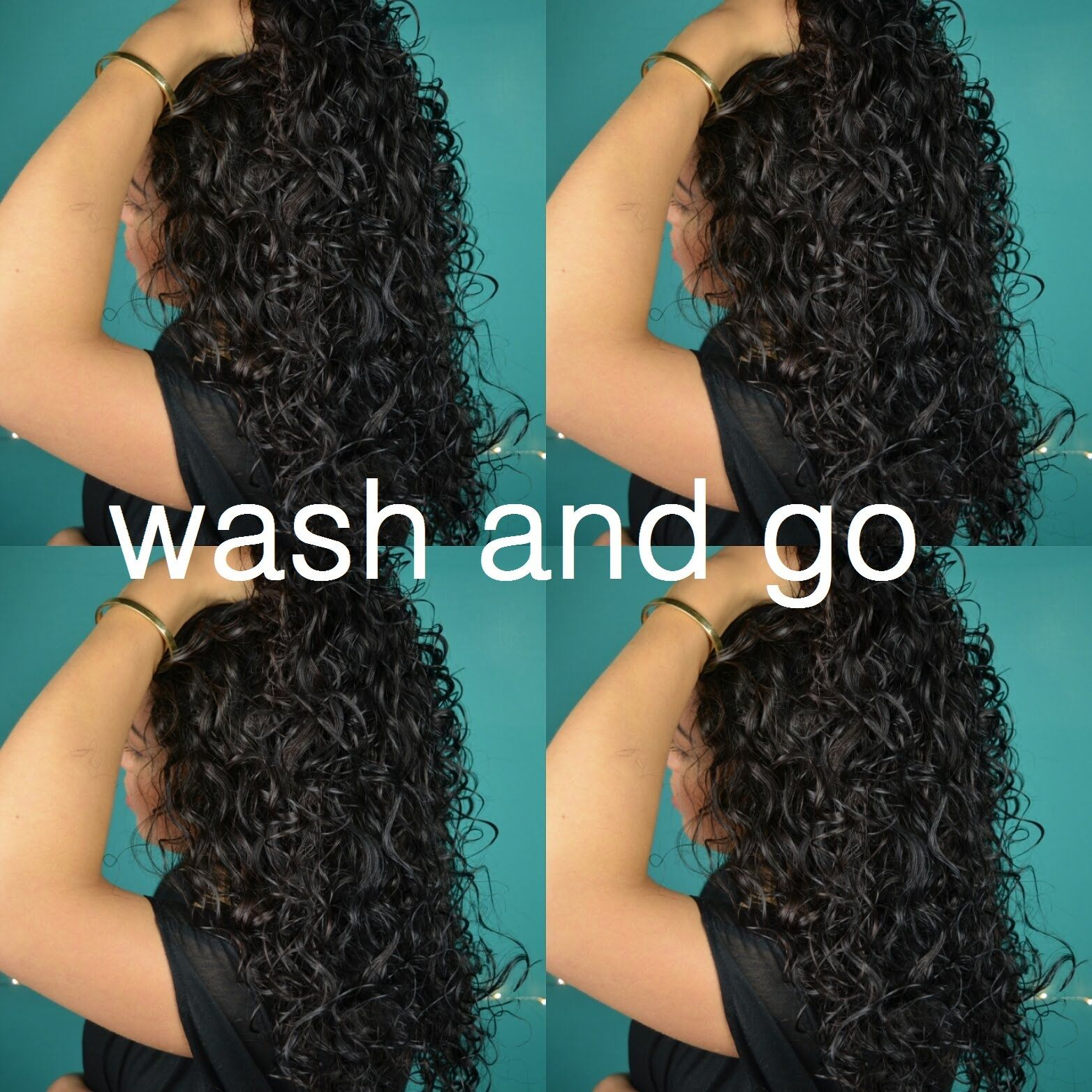 Wash And Go Curly Hair Routine Type 2c Hair (i wouldn