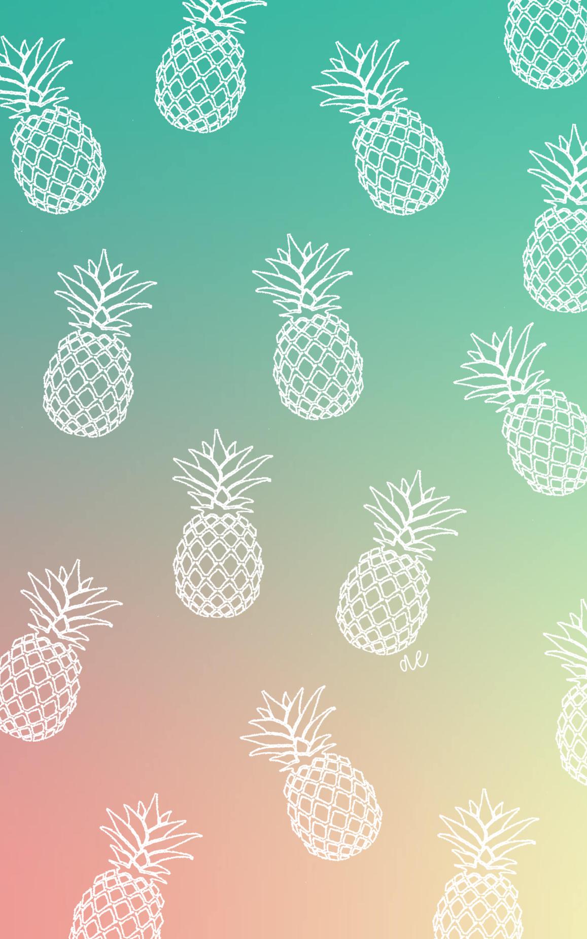 Pineapple Wallpaper Pineapple Wallpaper Cute Pineapple Wallpaper Tree Wallpaper Iphone