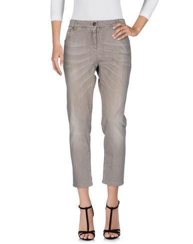 BRUNELLO CUCINELLI Women s Denim pants Grey 12 US  f3360a3a5b350