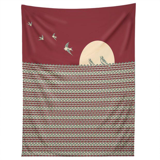 Belle13 Ethnic Sunrise Tapestry