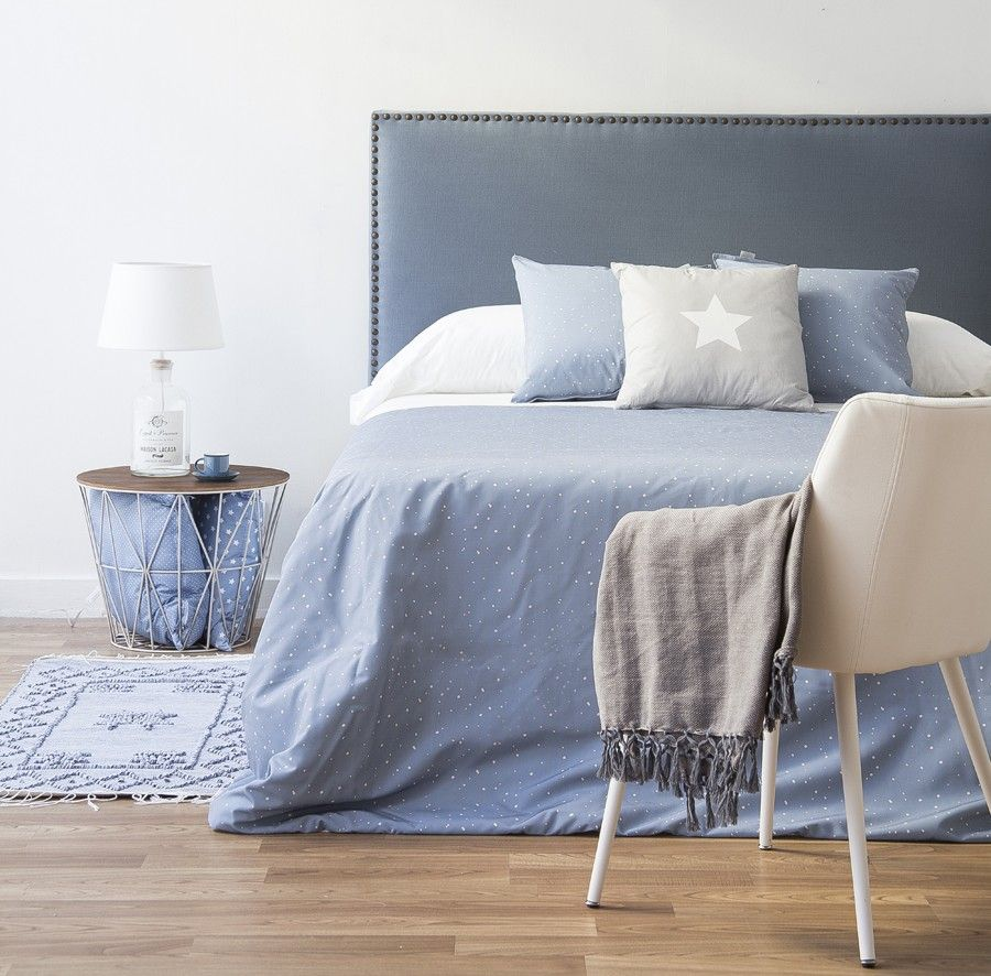 Nao cabecero tapizado respaldo sommier tapizado for Cabeceros de cama tapizados