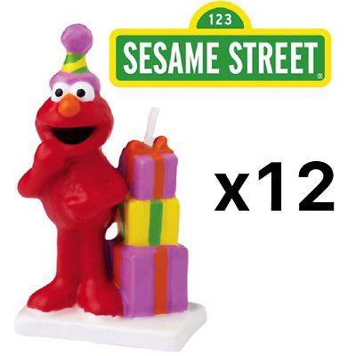 Candles 183323 Wilton Elmo Sesame Street Birthday Cake Candle