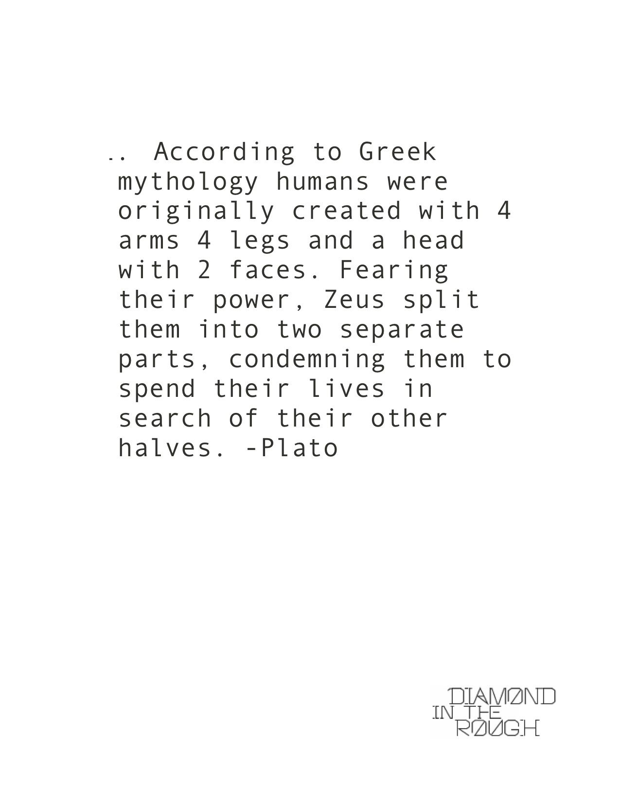 Search Love Quotes Greek Mythology Plato Love Quote  Romantic Wedding  Pinterest
