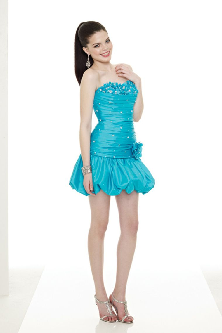2013 Homecoming Dresses Strapless Short Mini With Beading Sequins ...