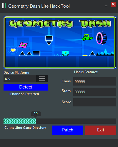 geometry dash pc hack tool