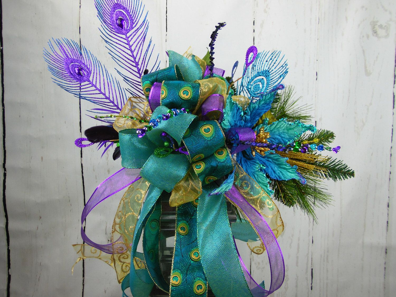 peacock tree topper purple tree topper christmas tree topper peacock lantern swag jpg 1500x1125 purple tree - Peacock Christmas Tree Topper