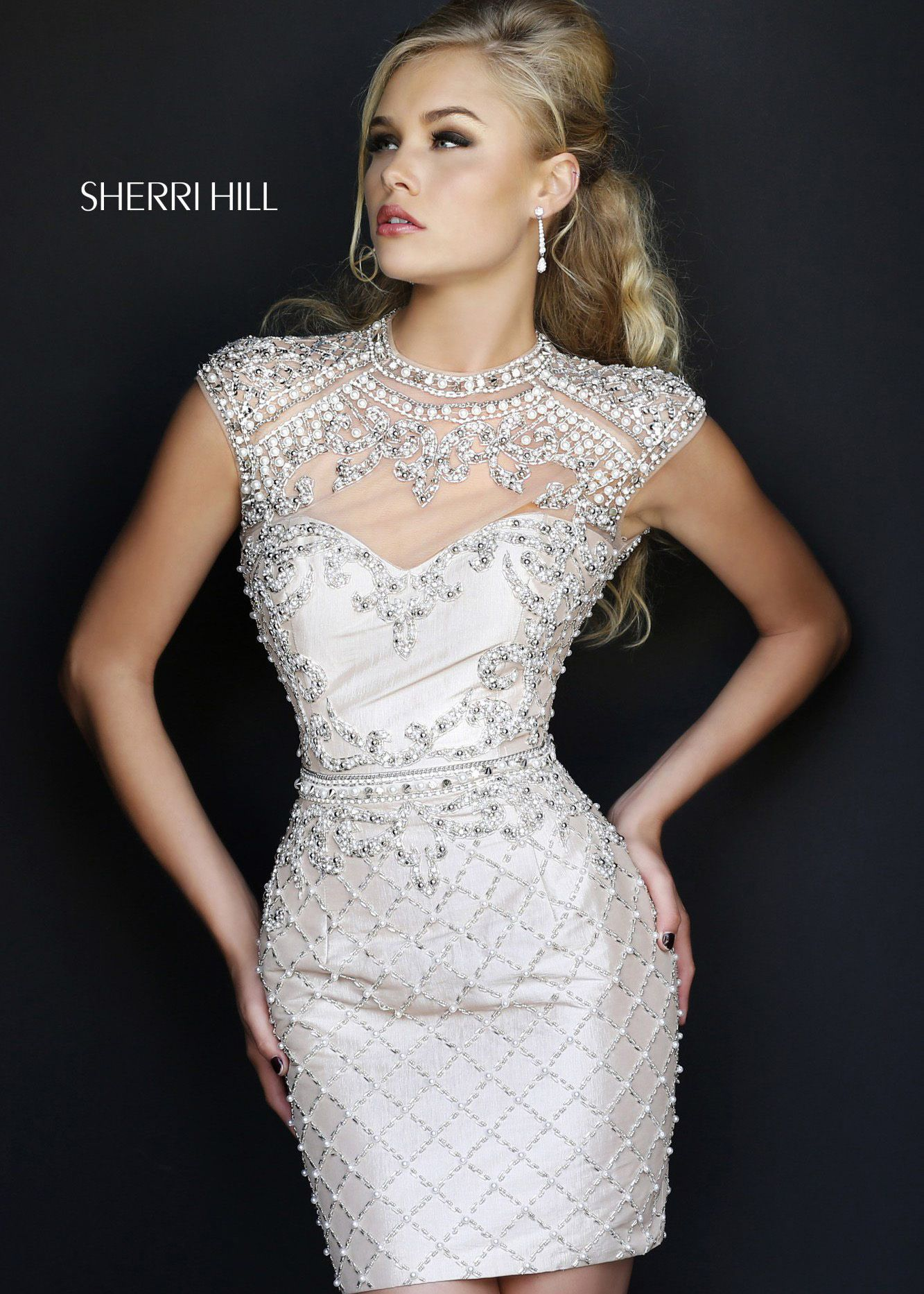 Shop New 2014 Sherri Hill Prom Dresses, find Sherri Hill 4304 nude ...