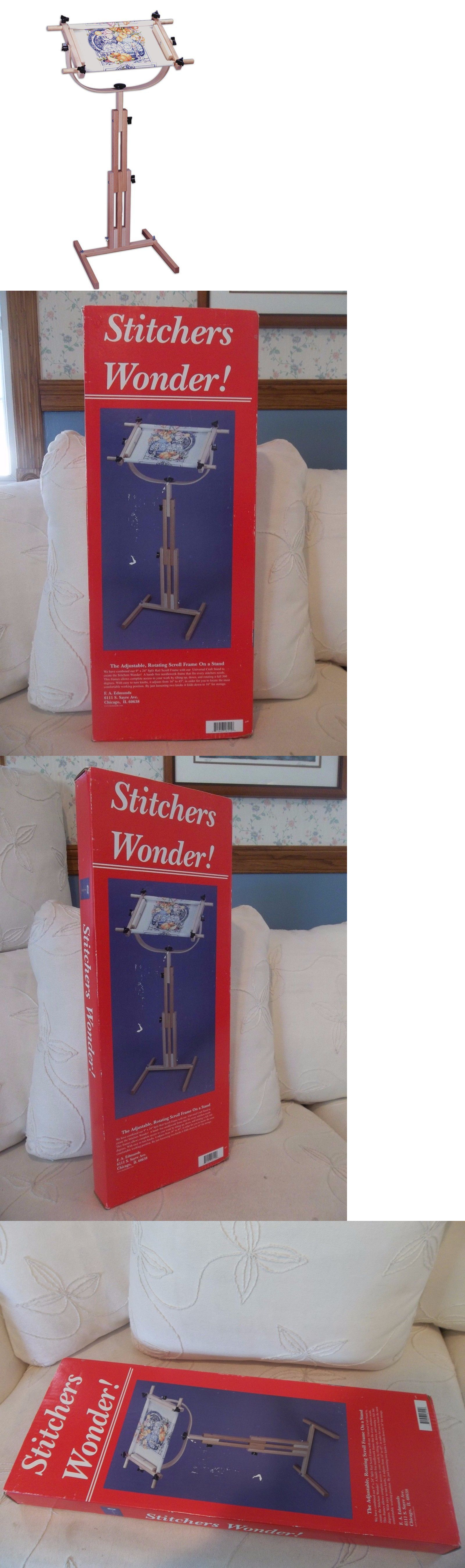 Hand Embroidery Hoops and Frames 160721: Fa Edmunds Stitchers Wonder ...