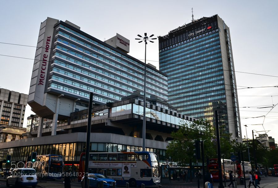 Manchester City Tower by marcinpmp3