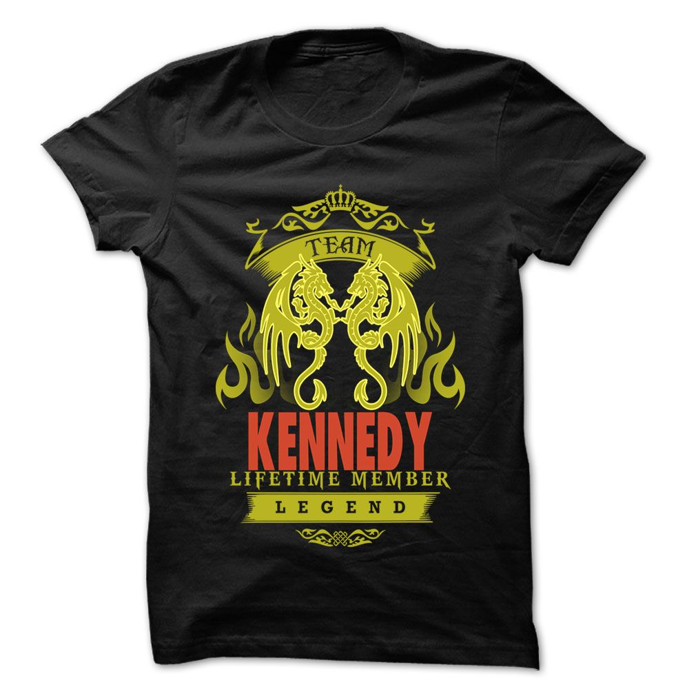 Team kennedy cool name shirt funny and cool irish saint